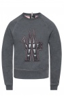 Sweatshirt with branded panel od Moncler Grenoble
