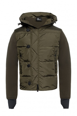 Quilted jacket with a logo od Moncler Grenoble