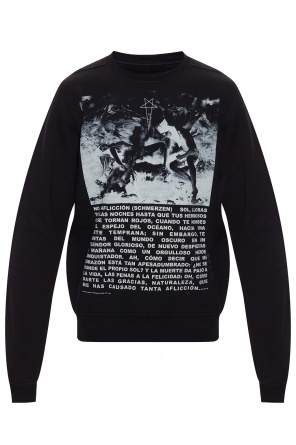 Printed sweatshirt od Rick Owens DRKSHDW