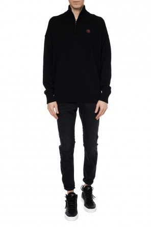 Embroidered sweater od Diesel