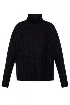 Woven turtleneck sweater od Marni