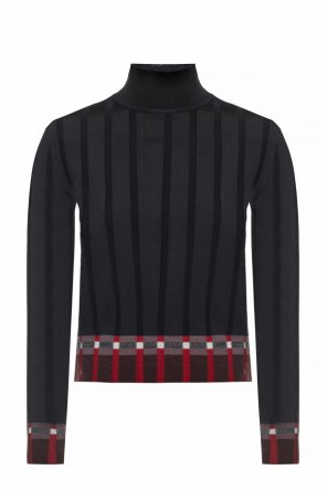 Ribbed turtleneck sweater od Marni