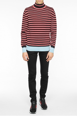 Striped turtleneck od Marni