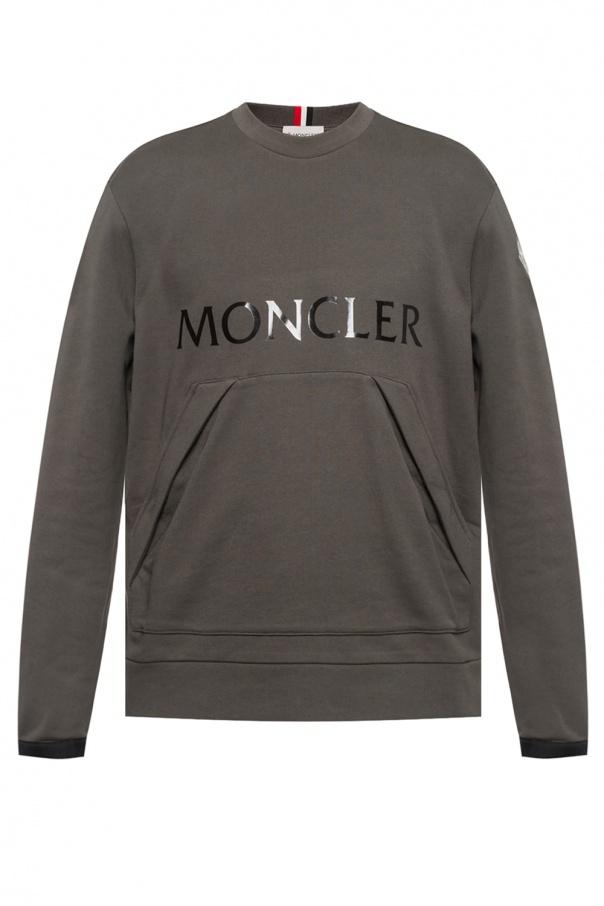 eb489f1d2 Logo-printed sweatshirt Moncler - Vitkac shop online