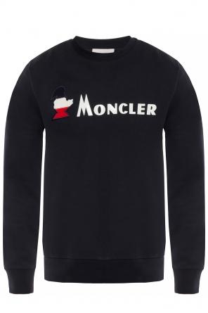 963477305 Sweatshirt with logo appliqué od Moncler Sweatshirt with logo appliqué od  Moncler