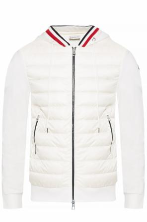 Sweatshirt with jacket effect od Moncler