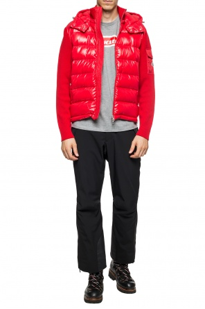 Sweater with down jacket motif od Moncler