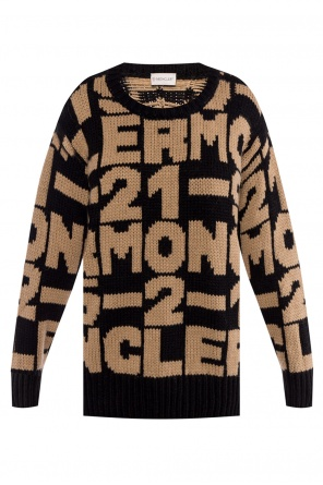 Embroidered sweater od Moncler