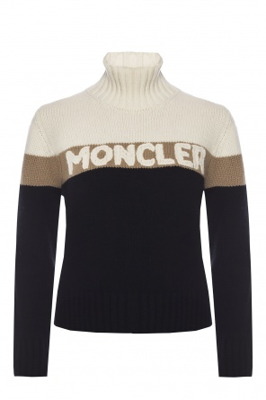 Logo-embroidered sweater od Moncler