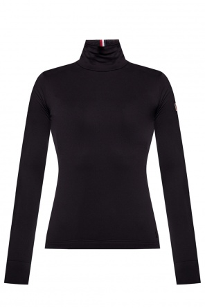 Logo-patched turtleneck sweater od Moncler Grenoble