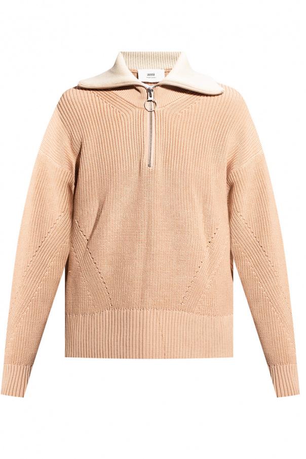 Ami Alexandre Mattiussi Pleciony sweter