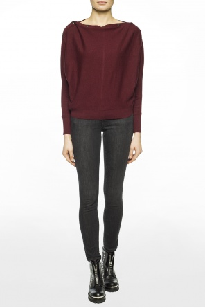 Sweater with elastic trims od AllSaints