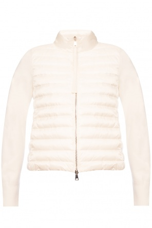 'tricot' quilted jacket od Moncler