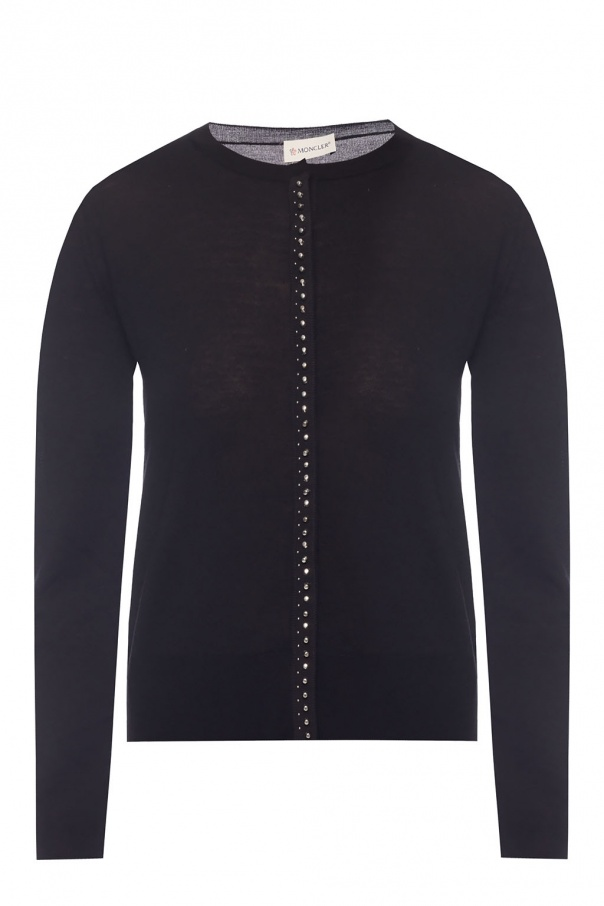 Moncler Cardigan with studs