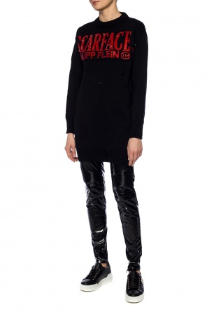 Logo-embroidered sweater od Philipp Plein