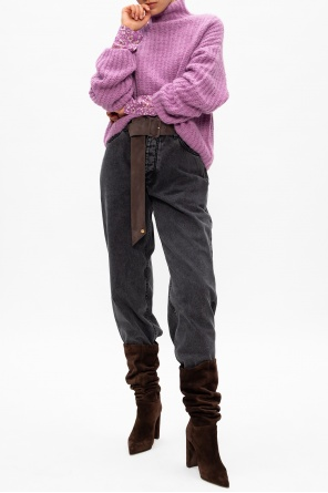 Knitted turtleneck sweater od Samsoe Samsoe