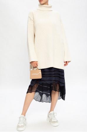 Rib-knit turtleneck sweater od Samsøe Samsøe