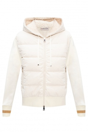 'maglia' jacket w/ fur back od Moncler