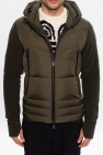 Moncler Grenoble Sweatshirt with quilted panel