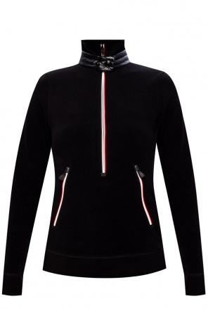 Fleece sweatshirt with logo od Moncler Grenoble