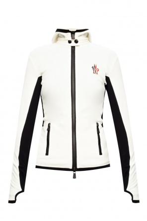 Fleece hoodie with logo od Moncler Grenoble