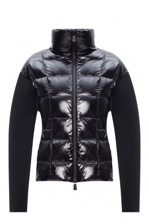 'cardigan' quilted front sweatshirt od Moncler Grenoble