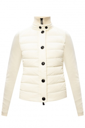 Sweater with padded front od Moncler Grenoble