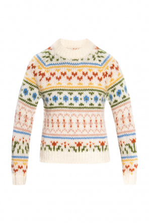Patterned sweater od Samsøe Samsøe