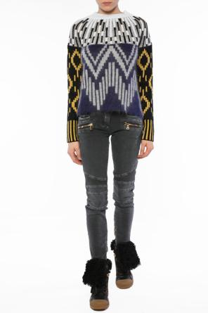 Patterned turtleneck sweater od Kenzo