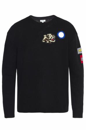 Patched sweater od Kenzo