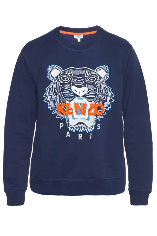 60d412b7 Tiger head-embroidered sweatshirt Kenzo - Vitkac shop online