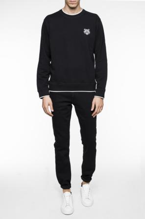 Sweatshirt with patch od Kenzo