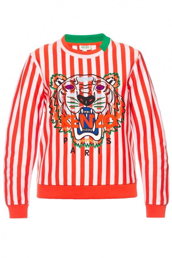 13b99462 Embroidered tiger head sweatshirt Kenzo - Vitkac shop online