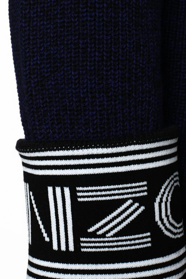 Sweater with logo at sleeves od Kenzo