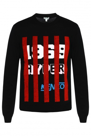 Sweater with decorative stripes od Kenzo