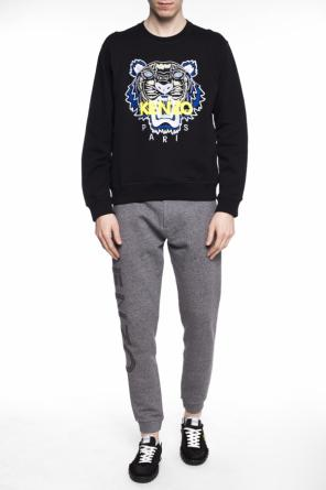 Embroidered tiger head sweatshirt od Kenzo