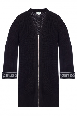 Ribbed sweater with pockets od Kenzo
