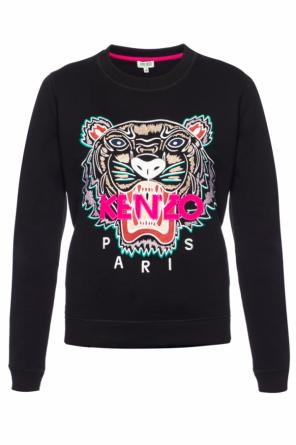 Sweatshirt with a tiger head motif od Kenzo