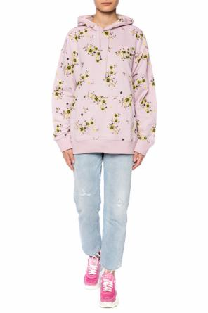Sweatshirt with a floral motif od Kenzo
