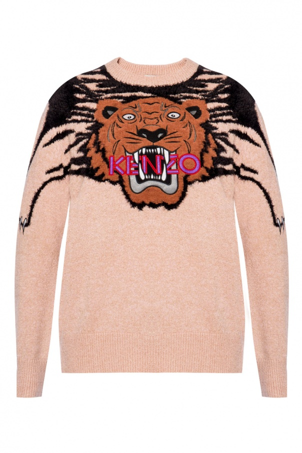 a89c6bbc Tiger head sweater Kenzo - Vitkac shop online