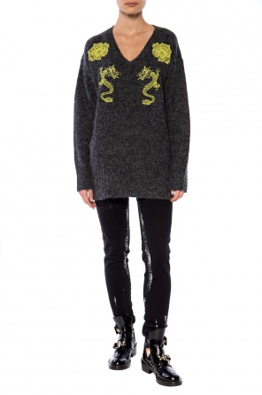 Embroidered sweater od Kenzo