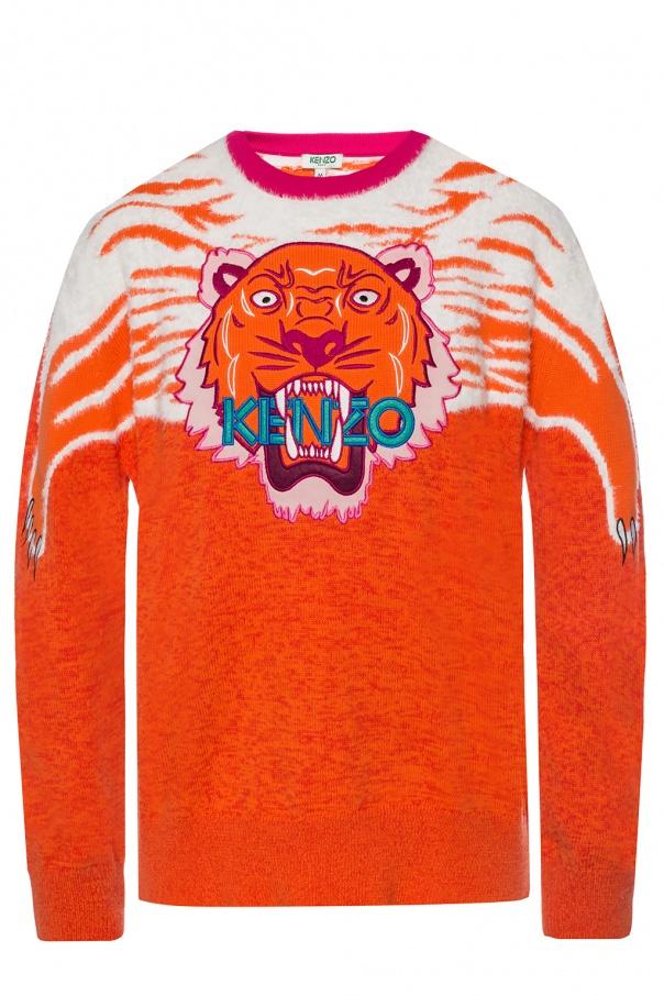 c8f016c8 Tiger head motif sweater Kenzo - Vitkac shop online