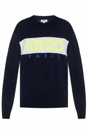 Knitted sweater with logo od Kenzo