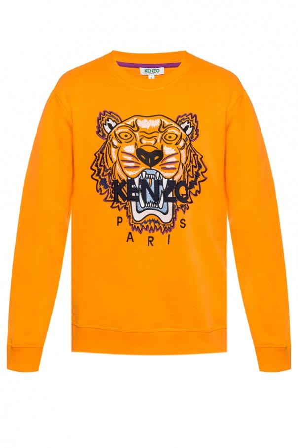 f8d3626270020 Bluza z motywem głowy tygrysa z logo Kenzo - sklep internetowy Vitkac