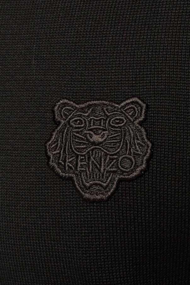 Kenzo Sweter z naszywką ZMiz3YCH