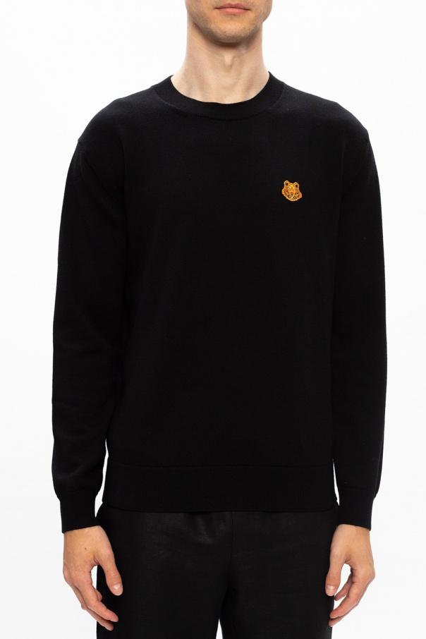 Kenzo Sweter z naszywką sPGbqTd2