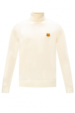 Branded turtleneck sweater od Kenzo