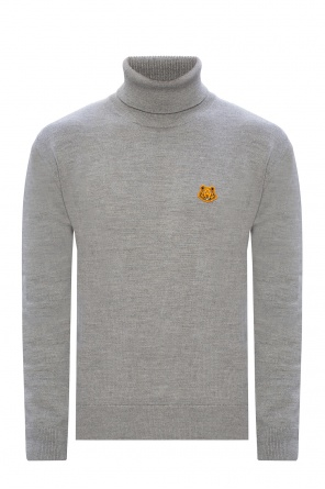 Patched turtleneck sweater od Kenzo