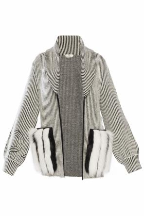 Striped sweater od Fendi
