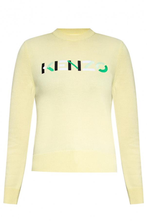 Kenzo Wool sweater with logo